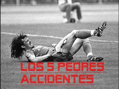 5 peores accidentes de futbol