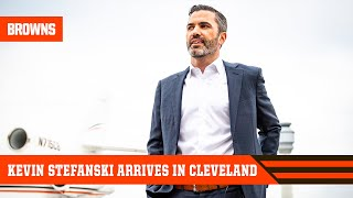 New Head Coach Kevin Stefanski arrives in Cleveland | Cleveland Browns