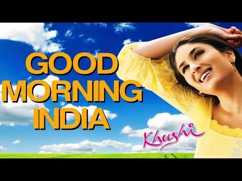 Good Morning India - Khushi | Fardeen Khan | Sonu Nigam | Anu Malik