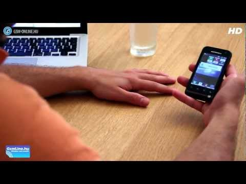 Motorola Defy Mini mobiltelefon teszt - GSM online™