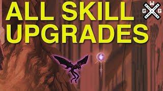 Sundered - All Upgraded Skills + Destroyed Shard Bonuses