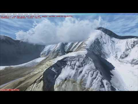 FSX: Stunning FREEWARE Mount Everest scenery in HD