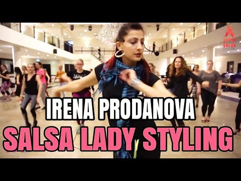 Irena Prodanova Salsa Lady Styling Workshop | AISF