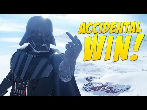 Accidental Win - Sorry Vader!
