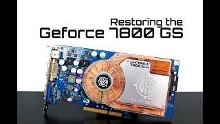 Restoring the BFG Geforce 7800GS AGP