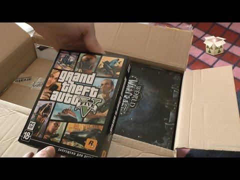 Распаковка посылки #6 / Много игр / Коллекционное Издание