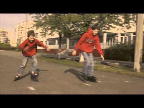 Любители кататься на роликах (Влад и Денис) .mov