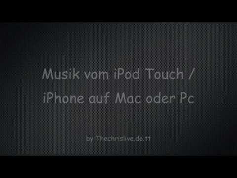 Musik vom iPod Touch / iPhone auf Mac und Pc - So gehts (Senuti)