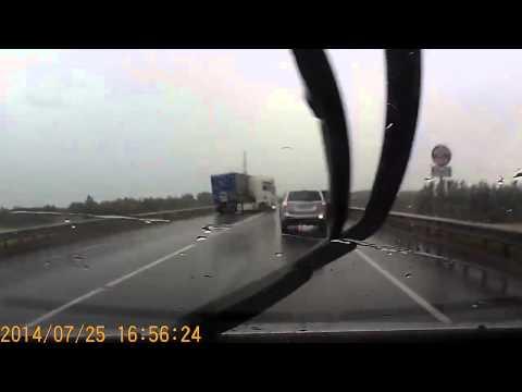 Авария с фурой в Вологде 25 07 2014