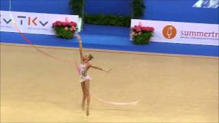 YANA KUDRYAVTSEVA  -   QUALIFICATION RIBBON - RG WC PESARO 2014