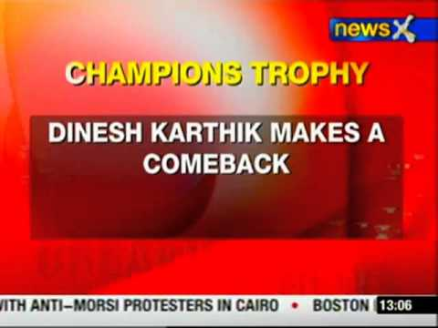 Yuvraj, Gambhir out from Champions trophy team