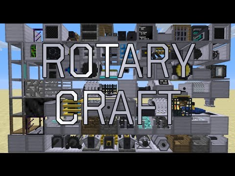 Tutorial RotaryCraft 01 Engines motory CZ