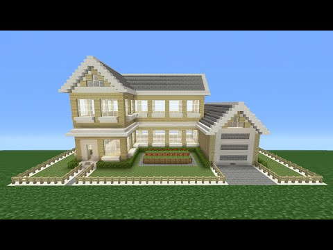 Minecraft Tutorial: How To Make A Suburban House - 4
