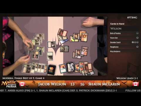 Pro Tour Born of the Gods - Finals - Jacob Wilson vs. Shaun McLaren