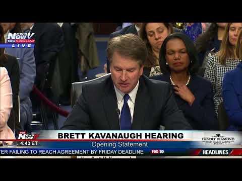 OPENING STATEMENT: Brett Kavanaugh Senate Confirmation Hearing