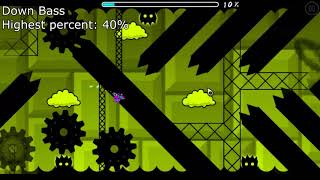 PLAYING 1 ATTEMPT IN ALL THE TOP 50 HARDEST DEMONS ON GEOMETRY DASH 2.1
