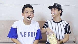 Khi Phở đặc biệt ăn Bắp Rang Bơ kiểu mới lạ | funny with how to eat popcorn
