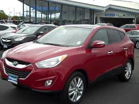 2012 Limited Hyundai Tucson Awd At Sheppard Motors Youtube