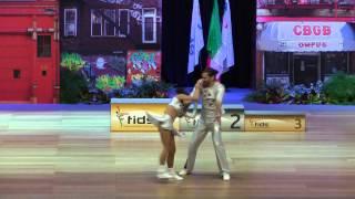 Amélie Galvez & Richard Cerutti - Europameisterschaft 2015