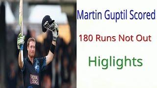 Martin Gaptil 180 Runs vs South Africa