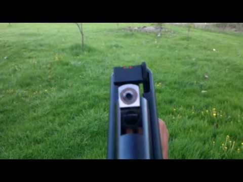 Shooting My Modified Crosman Phantom 1000x