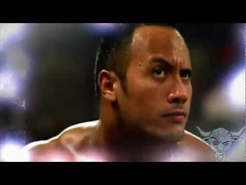 WWE The Rock Titatron with 2000 Theme