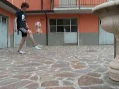 Calcio Spettacolo FOOTWORKteam Ricky Freestyle Football