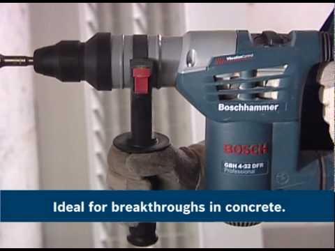Bosch Rotary Hammer Drill Videos