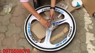 Bán xe đạp gấp Land Rover - xe đạp gấp BMW-X6 nhập mới 100%.0975588078  Http://fb.com/XedapLandRover