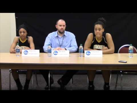 Birmingham Southern's post game interview against Maryville in NCAA second round