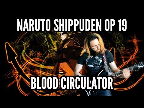 Naruto Shippuden OP 19 - Blood Circulator ブラッドサーキュレーター 【Guitar Cover】   Jparecki95