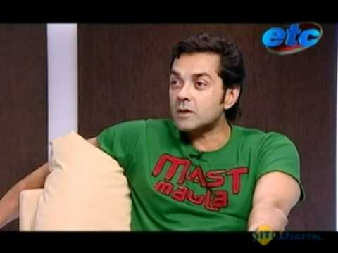 Komal Nahta with Boby Deol