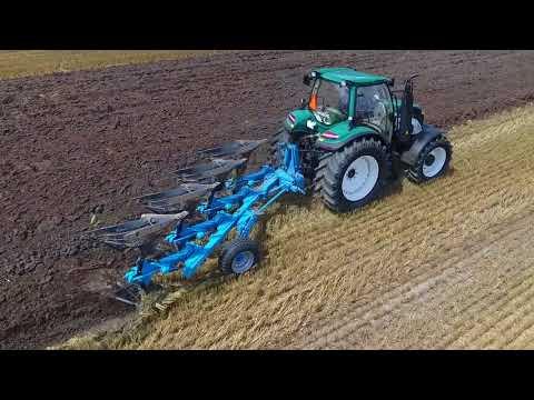 Traktor ARBOS 5130 + Rabe Albatros Pracujące W Sokolniki Wielkie -