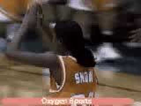 Michelle Snow Dunks Video