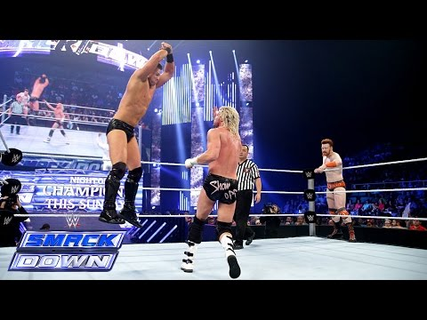 Sheamus & Dolph Ziggler  Vs. Cesaro & The Miz: Smackdown, Sept. 19, 2014 video