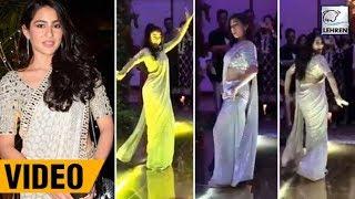 Sara Ali Khan And Karan Johar's Amazing Dance Video From Abu Jani's Niece' Wedding | LehrenTV