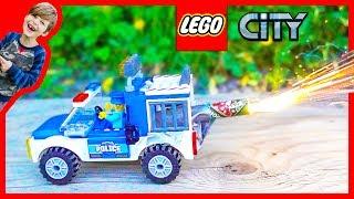 Lego Police Rocket Jail Truck!