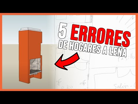 5 Problemas Constructivos del Hogar a Leña, Parrilla o Quincho. Tutorial.