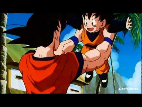 Goku Meets Goten For The First Time - 3d hd 1080p video