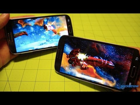 Galaxy S 4: Octa-Core vs Quad-Core