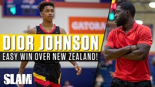 Dior Johnson Goes Up Against a New Zealand Squad!? Strive For Greatness Is Final Four Bound! 🇳🇿🚀