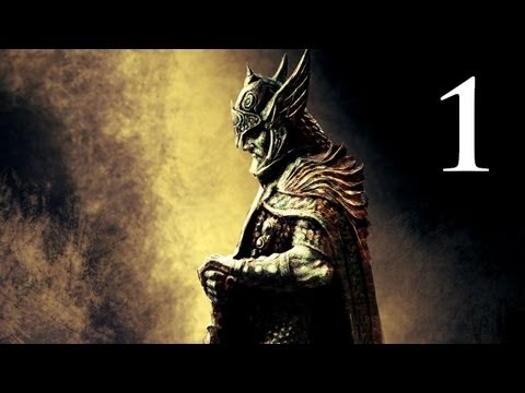 Elder Scrolls V: Skyrim - Walkthrough - Part 1 - Character Creation (Skyrim Gameplay)