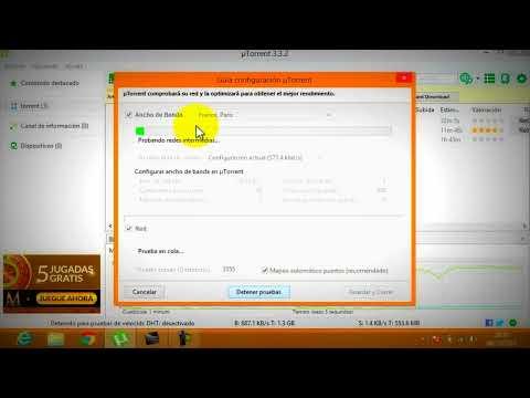 Como aumentar la velocidad de las descargas en utorrent 3.3.2