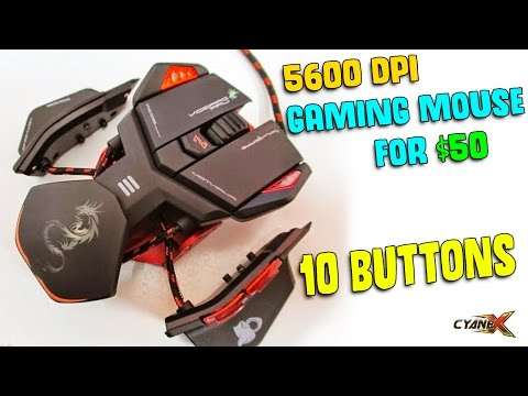 BEST GAMING MOUSE FOR $50?   Dragonwar Phantom Unboxing & Hands-on Review