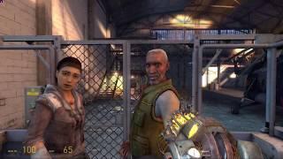 Half-Life 2 Episode 2 ending IN REVERSE