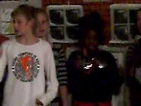 Kerstfeest Laurentius School Delft - 12/23/2007