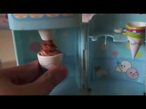 Playing with Konapun! #1- Mamegoma Soft Ice Cream