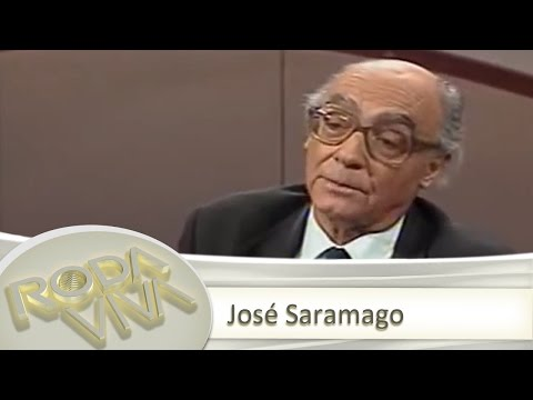 Assista  ntegra da entrevista com Jos Saramago (1997)