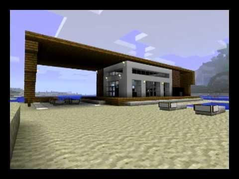 minecraft modern house design and modern texture pack