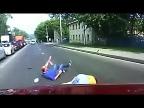 Сбитые пешеходы_Смерть на дороге_18+